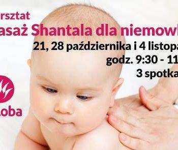 Masaż Shantala w klubie Laloba Centrum Kobiet