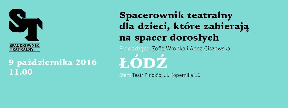 Spacerownik teatralny - Łódź