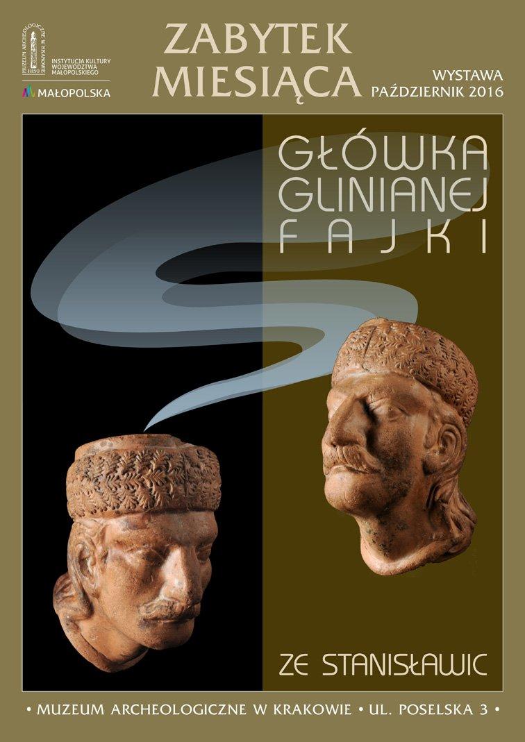 zabytek-miesiaca Główka glinianej fajki Ze Stanisławic