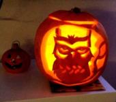 Lampion na halloween