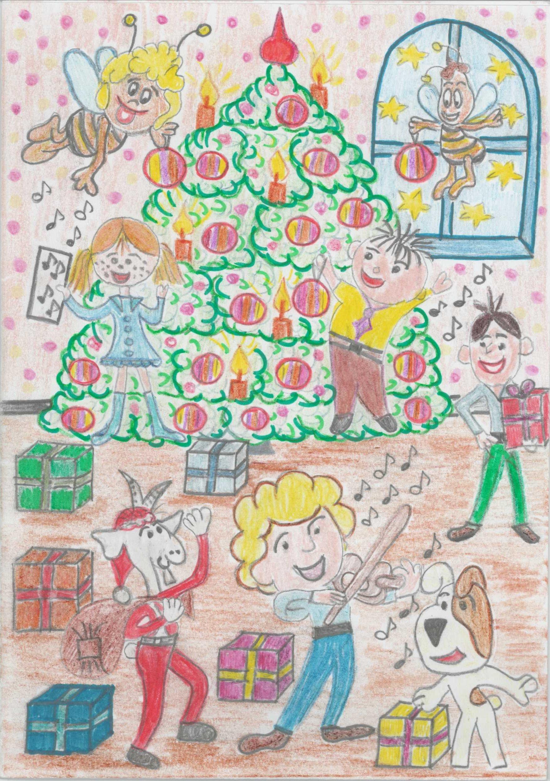 kartka świąteczna konkurs