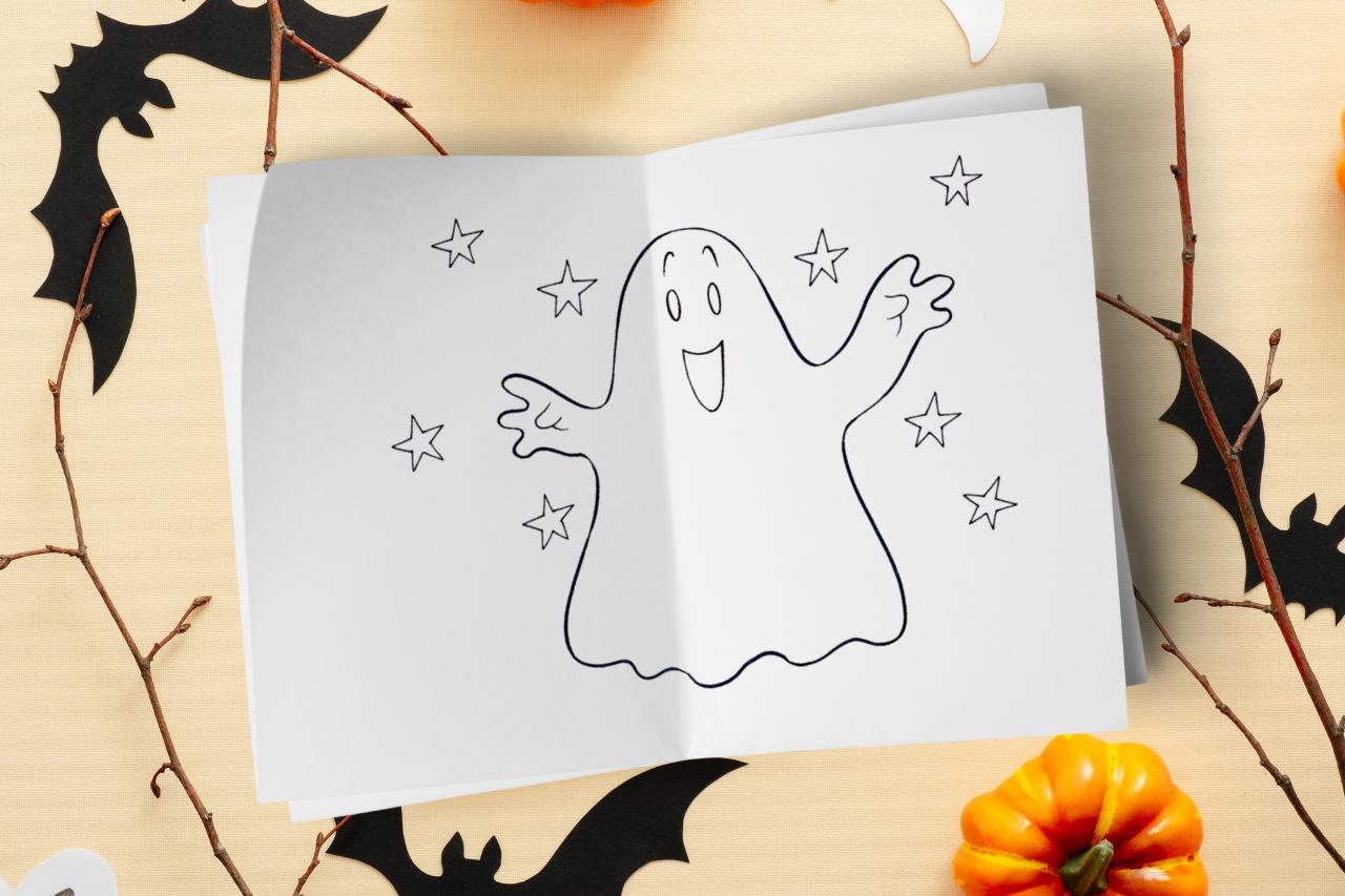 Halloween kolorowanki dla dzieci, darmowe malowanki online na halloween