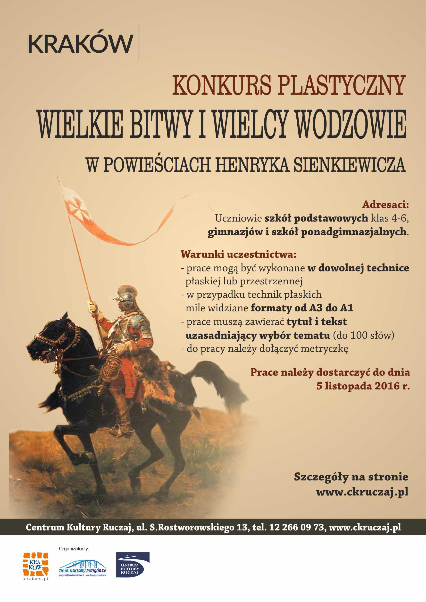 Wielkie bitwy i wielcy wodzowie w powieściach Henryka Sienkiewicza