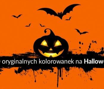 Darmowe kolorowanki Halloween