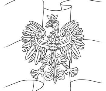 Kolorowanka Mapa Polski