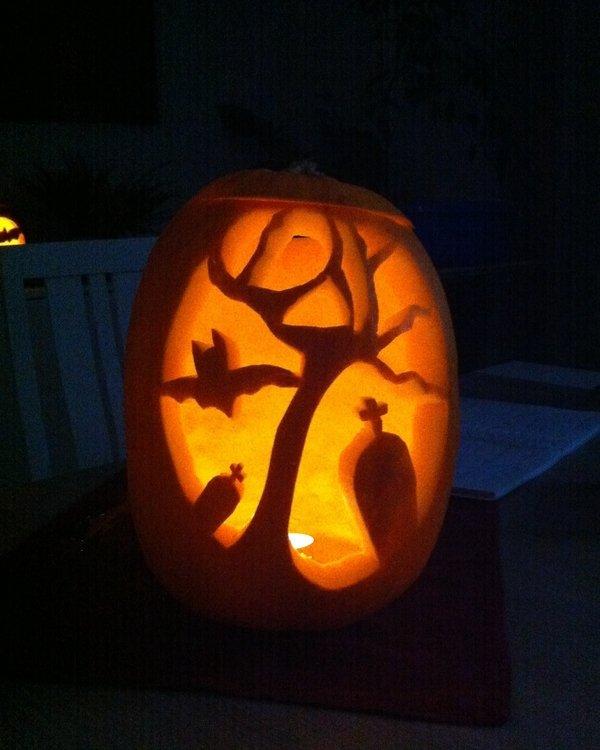 Dyniowe cuda na Halloween - pomysły na oryginalne lampiony na halloween