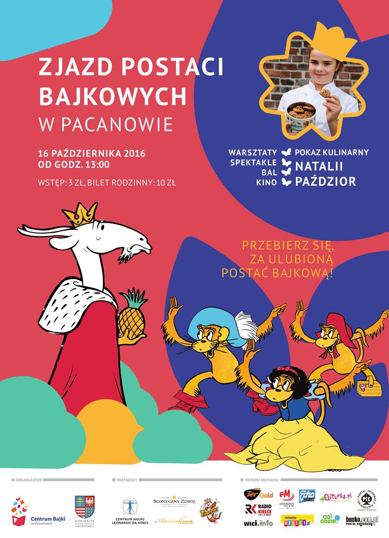 Europejskie Centrum Bajki zaprasza wszystkich, którzy wciąż jeszcze czują się dziećmi (a także tych, którzy się już nimi czuć przestali) na 7. Zjazd Postaci Bajkowych.