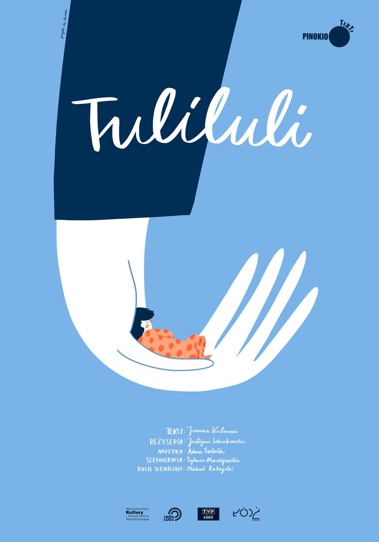 teatr pinokio łódź tuliluli plakat
