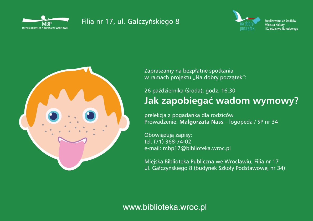 Spotkanie z logopedą Wrocław