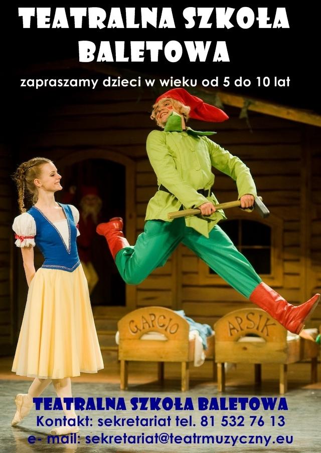 teatralna szkoła baletowa w Lublinie