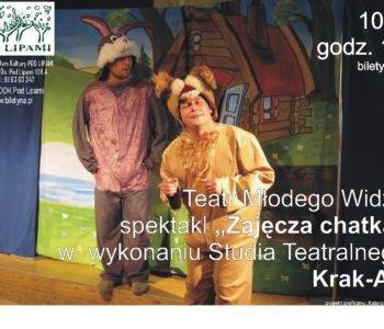 Zajęcza chatka spektakl Poznań
