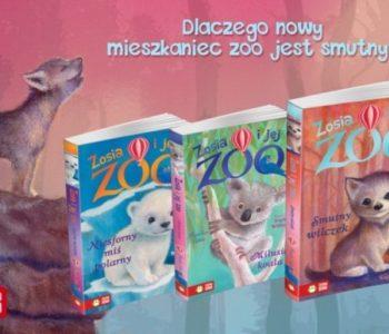 Zosia i jej zoo smutny wilczek