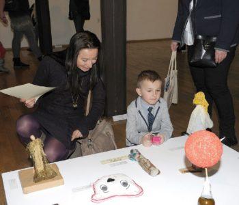 Wystawa pokonkursowa XIV MTT w oczach młodego widza