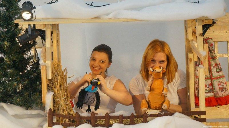 Zimowe przygody Mamy Mu i Pana Wrony - Teatr w Kropki w Fundacji Mały Dom Kultury