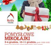 Mikołajkowe warsztaty tworzenia ozdób świątecznych w NoVa Park