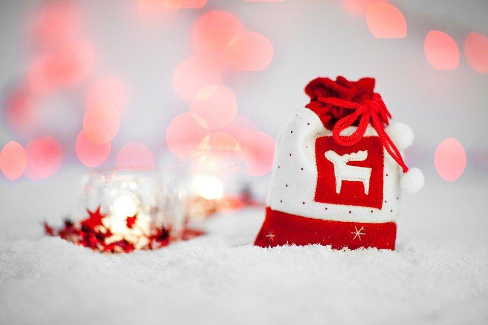 Święta Boże Narodzenie prezent ozdoba