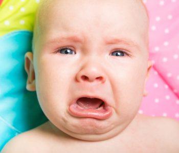 dziecko ciągle płacze