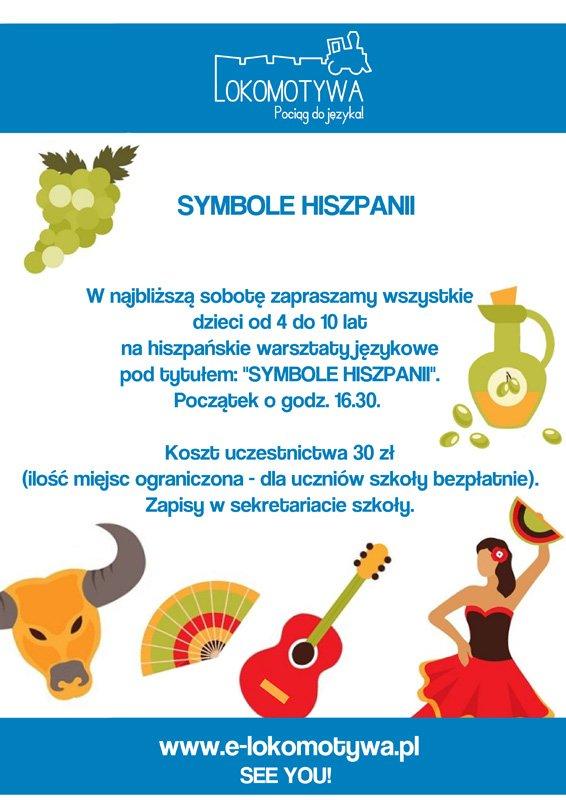 Szkoła językowa Lokomotywa - symbole Hiszpanii