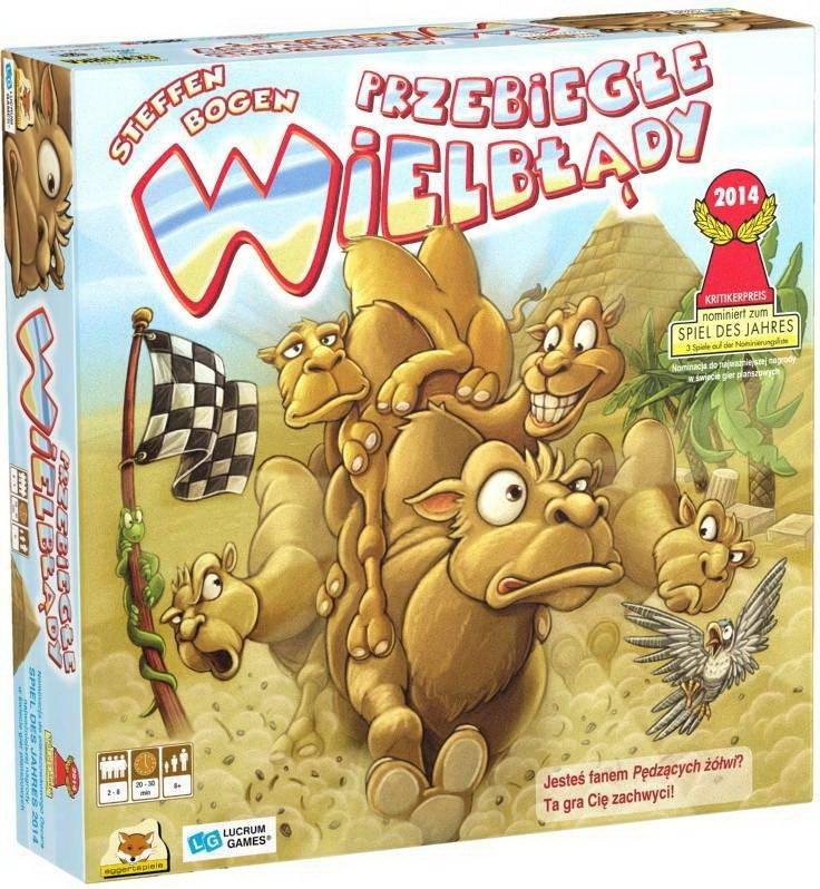 Przebiegłe wielbłądy gra dla dzieci