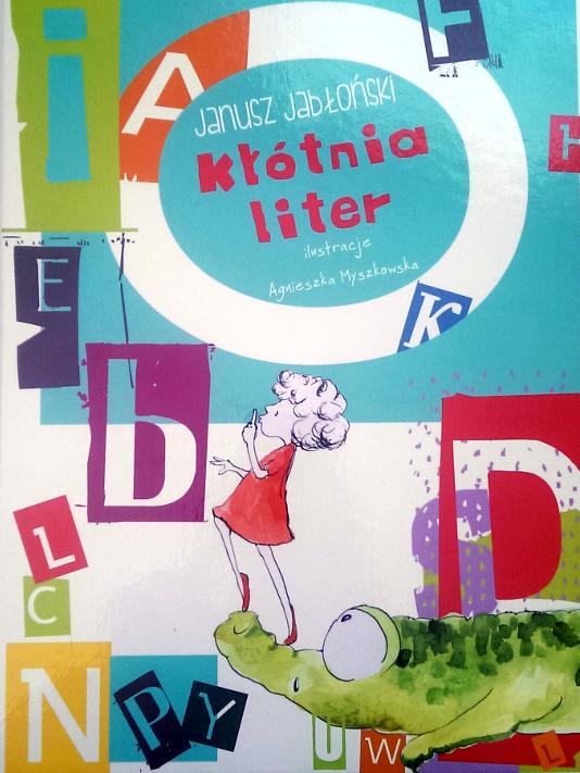 Kłótnia liter książka dla dzieci