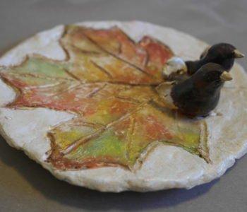 Ptaszek z gliny jak zrobić