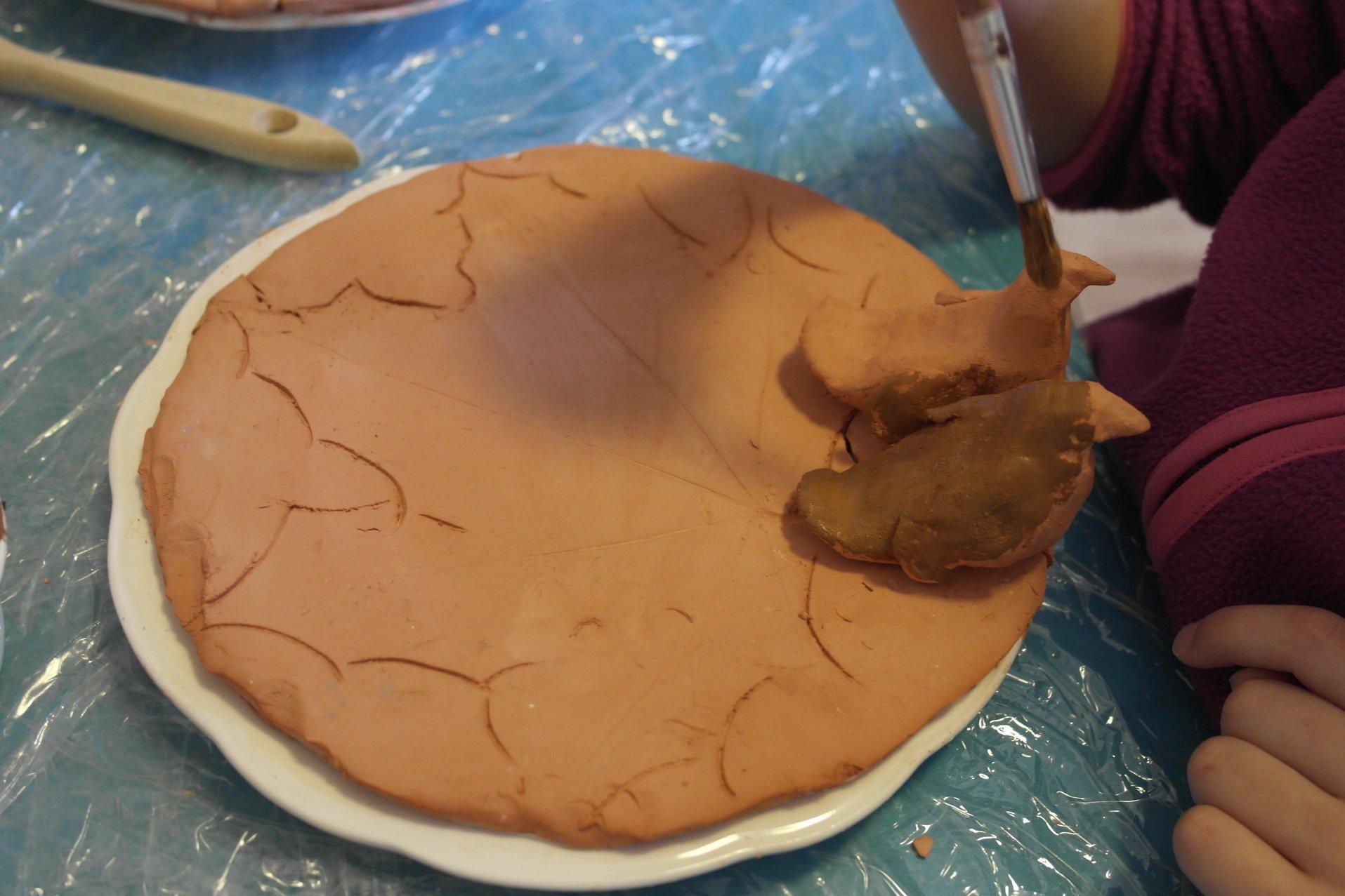 Zabawy jesienne z gliną