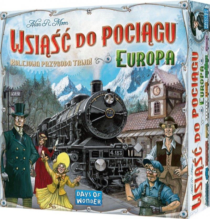 Wsciąśćdo pociągu najlepsze gry planszowe