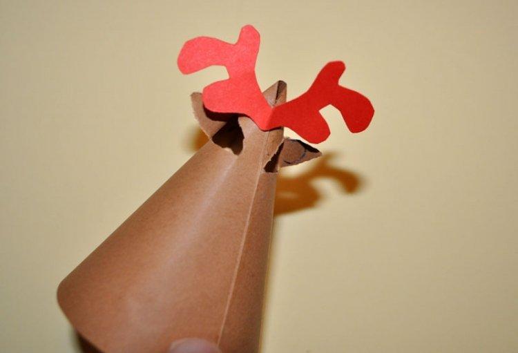 zabawy bożonarodzeniowe - renifer z brystolu 7