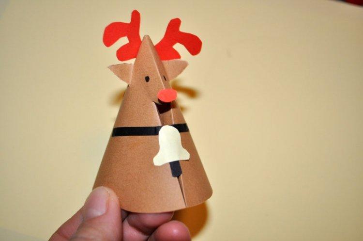 zabawy bożonarodzeniowe - renifer z brystolu 9