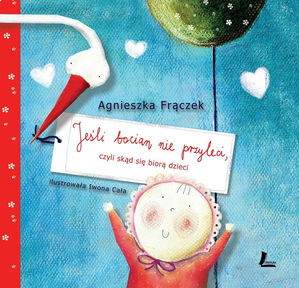Jesli Bocian nie przyleci książka o adopcji dla dzieci