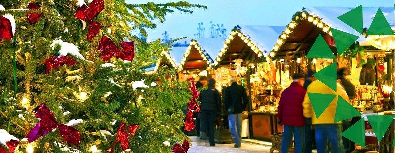 Jarmark świąteczny w Szczecinie