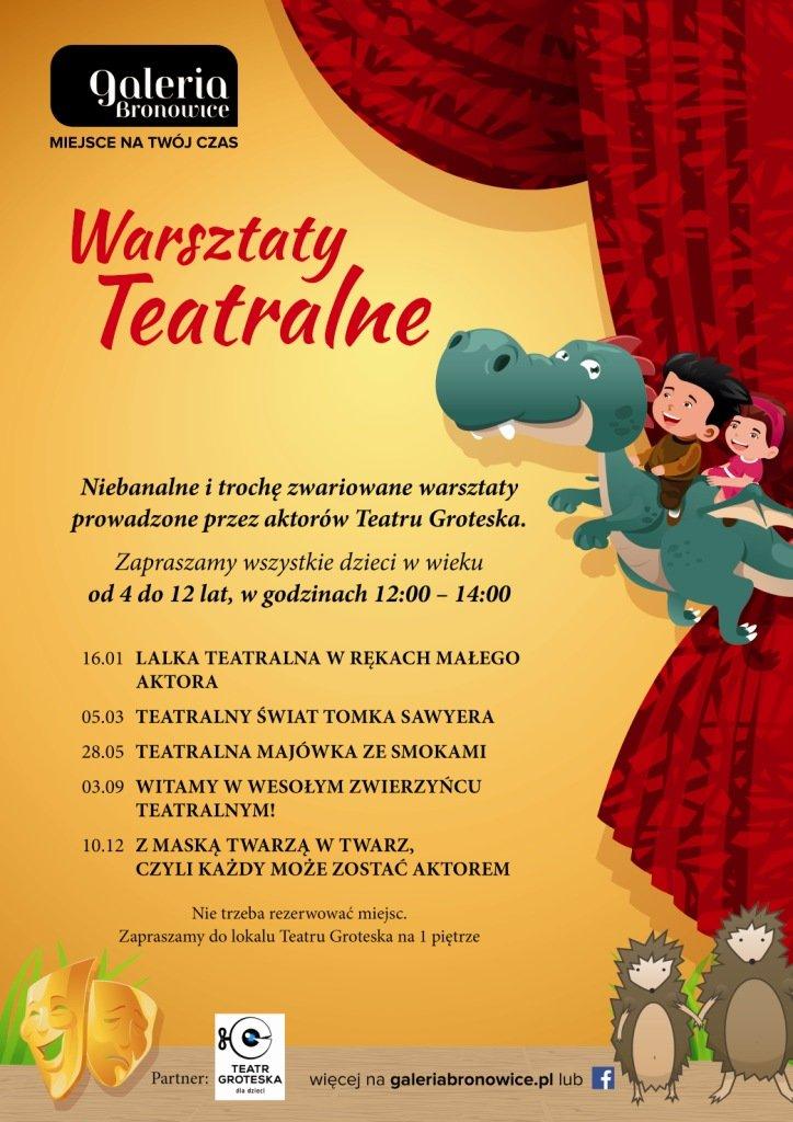 Teatr Groteska zaprasza dzieci do Galerii Bronowice