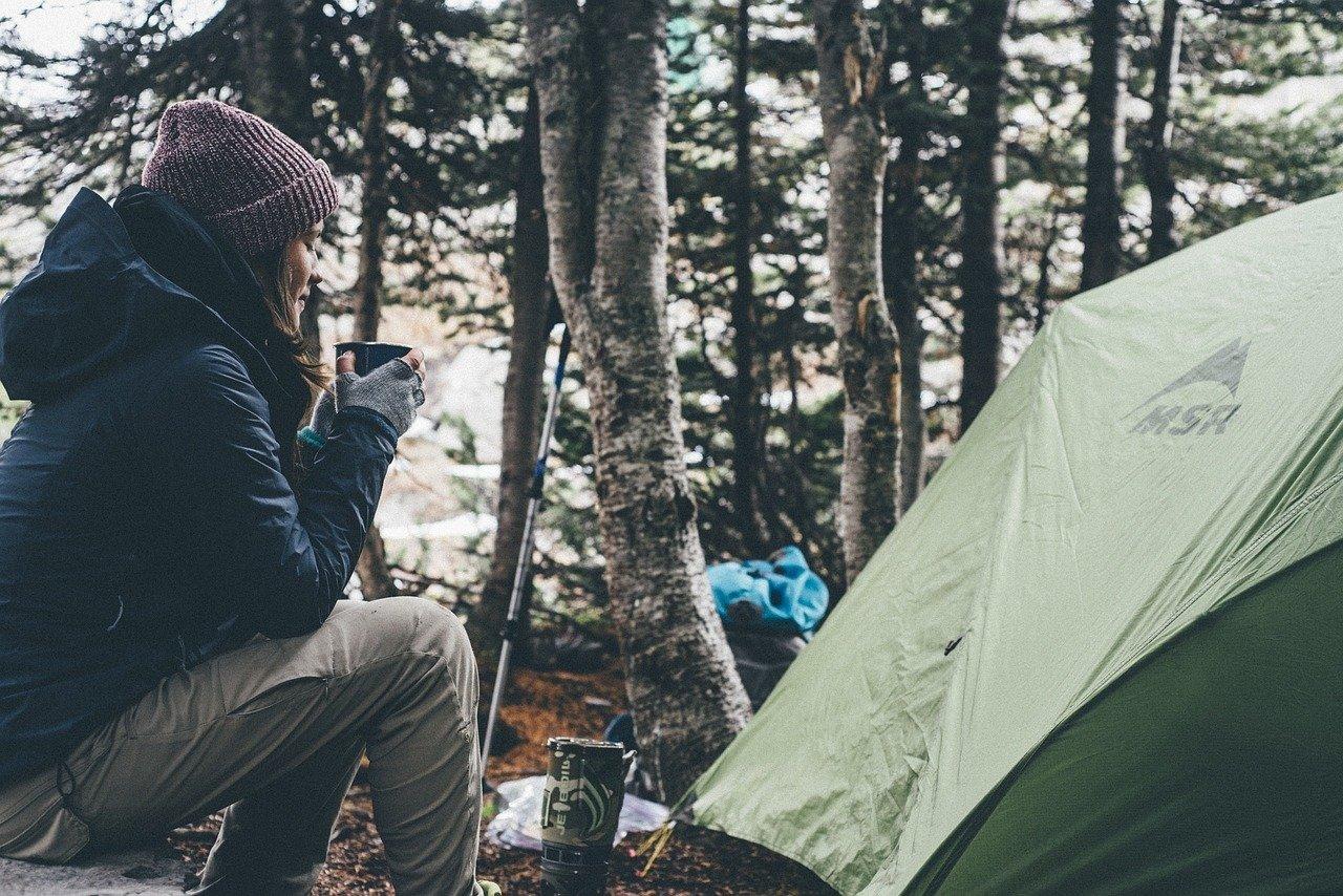 wyjazd pod namiot z dzieckiem