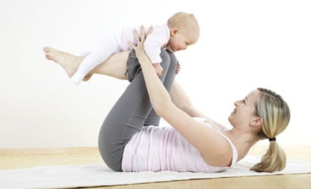 Gimnastyka dla rodzica z dzieckiem