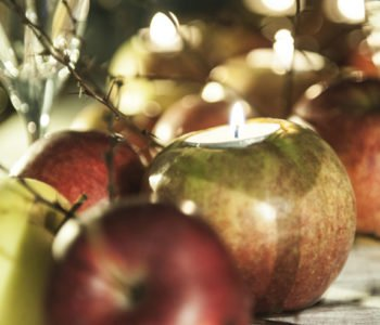 Lampiony z jabłka
