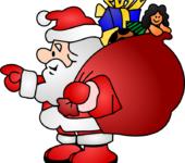 dzieci rysują - list do św. Mikołaja