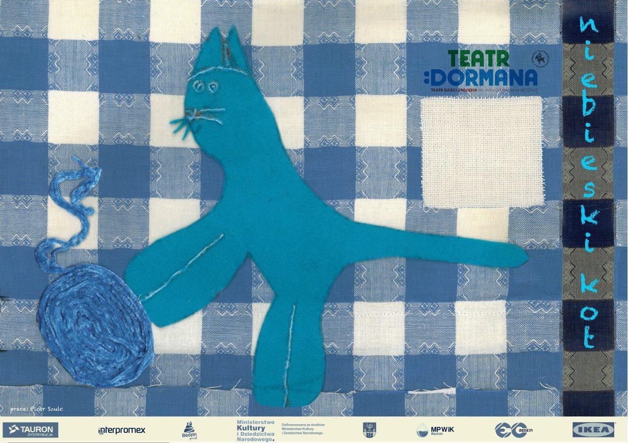niebieski kot spektakl będzin