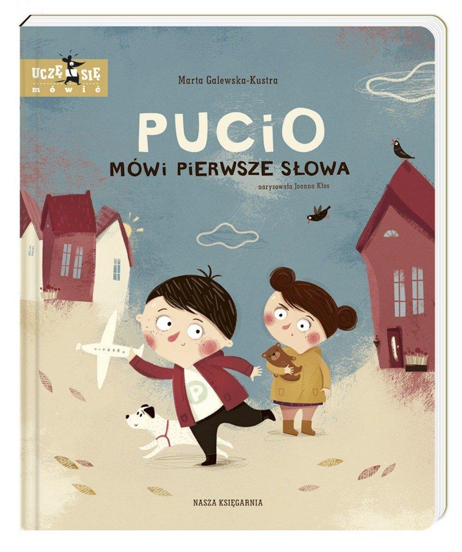 Pucio mówi pierwsze słowa okładka