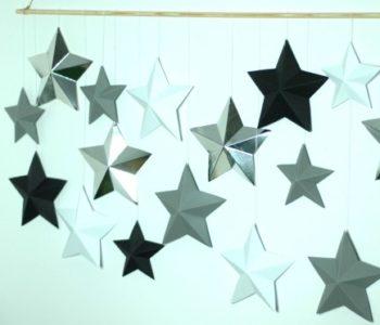 sylwestrowa dekoracja gwiazdki