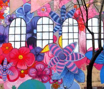Muralunek - Nowy dziecięcy mural w Łodzi