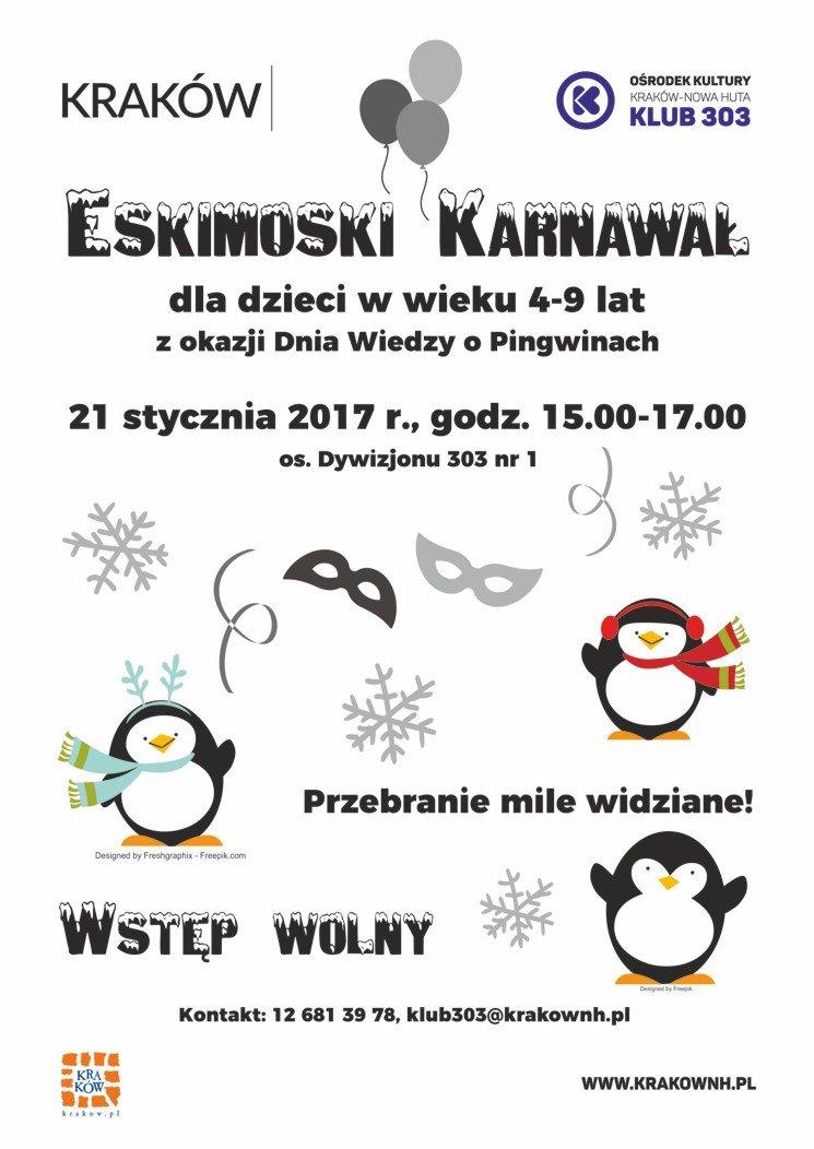 Eskimoski karnawał w Klubie 303