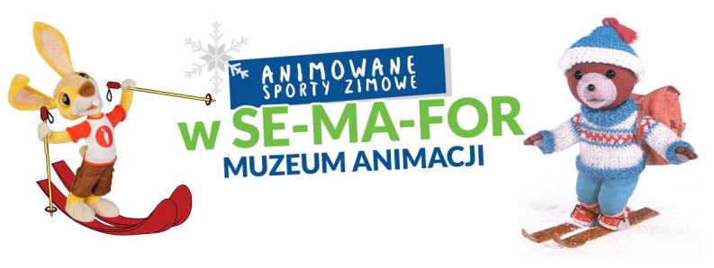 sma muzeum animacji animowane sporty zimowe