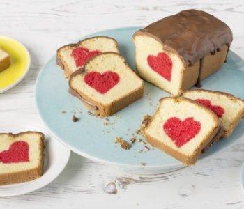 Przepis na ciasto z ukrytym sercem