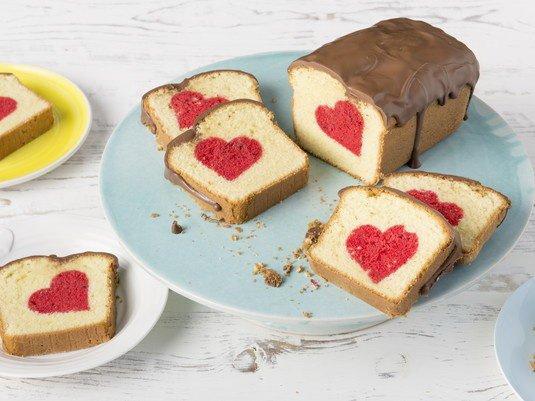 Ciasto z sercem przepis na walentynki