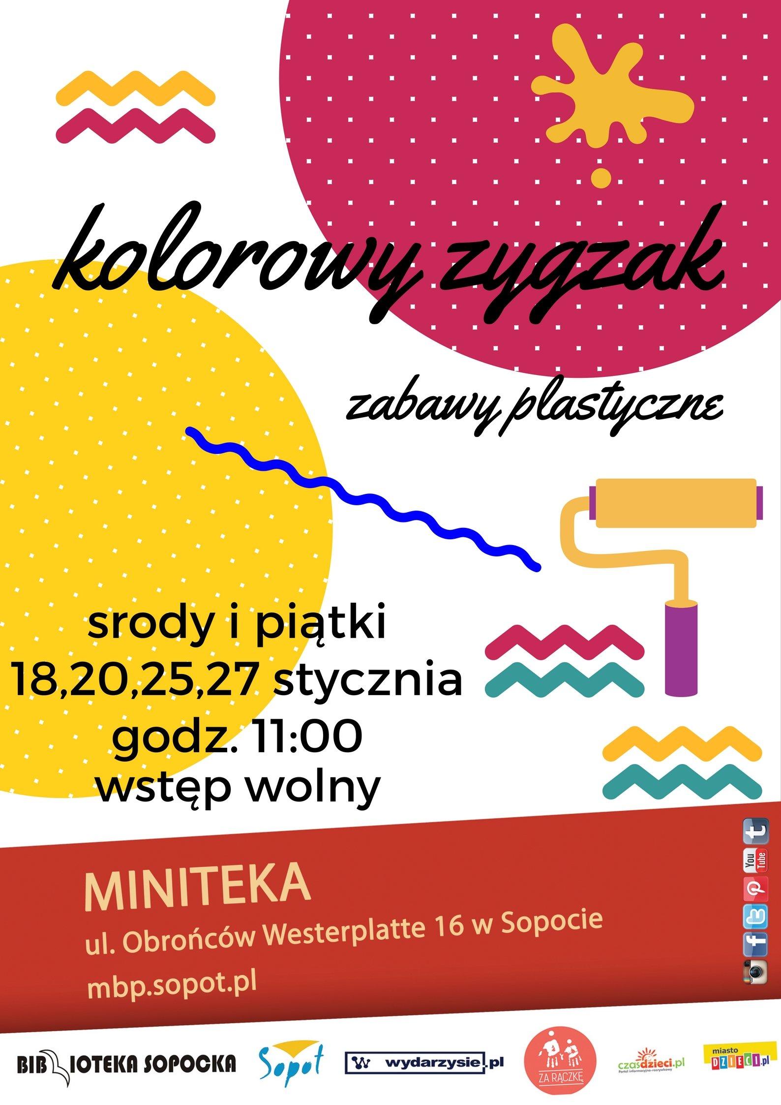 Kolorowy zygzak ferie 2017 Sopot