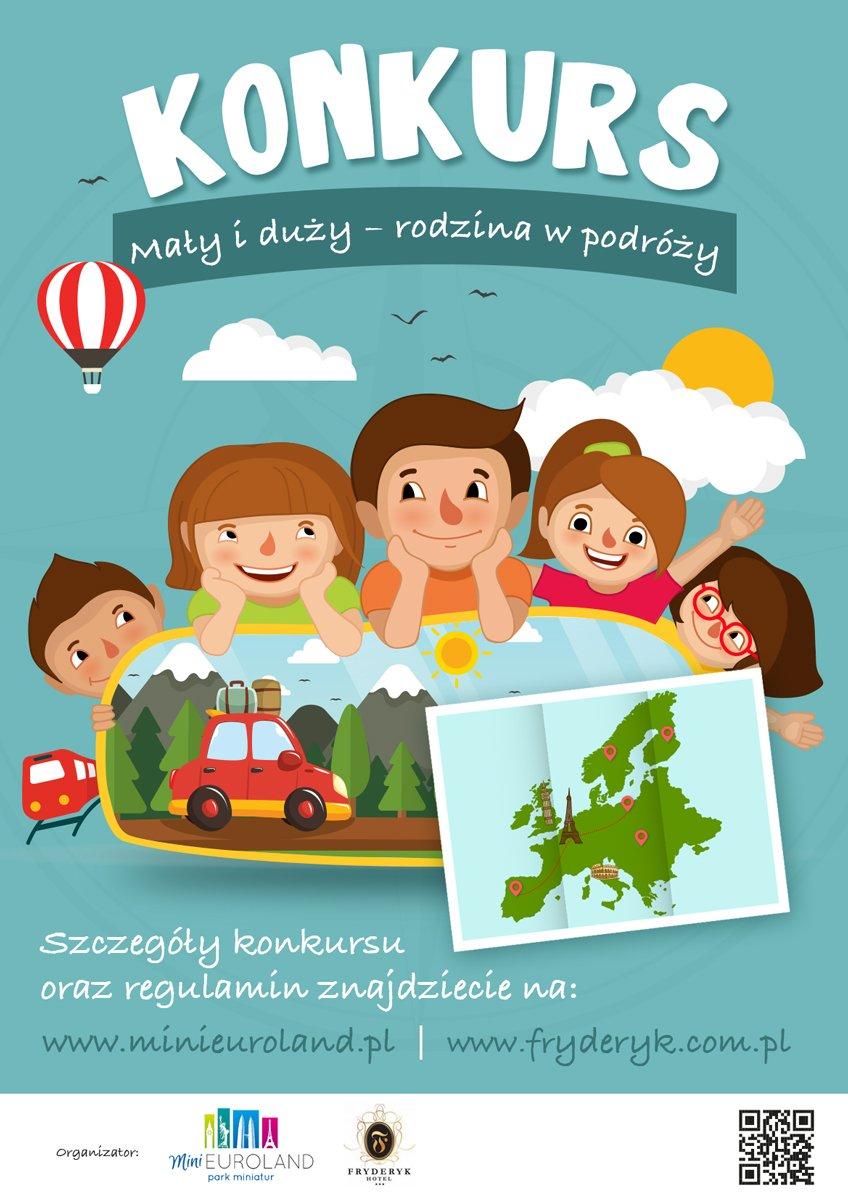 Konkurs na komiks Mały i duży – rodzina w podróży