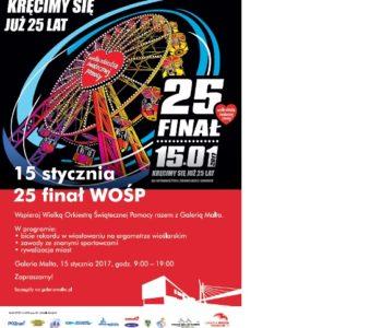 25. Finał WOŚP 2017