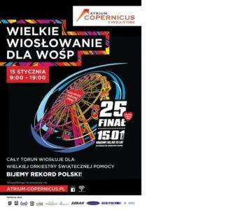 25. Finał WOŚP w Toruniu