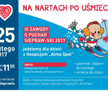 Zawody narciarskie Po uśmiech dla dzieci
