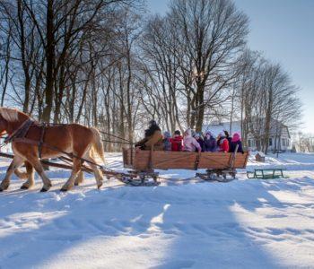 Ferie zimowe 2017. Zima w skansenie w Muzeum Wsi Mazowieckiej w Sierpcu